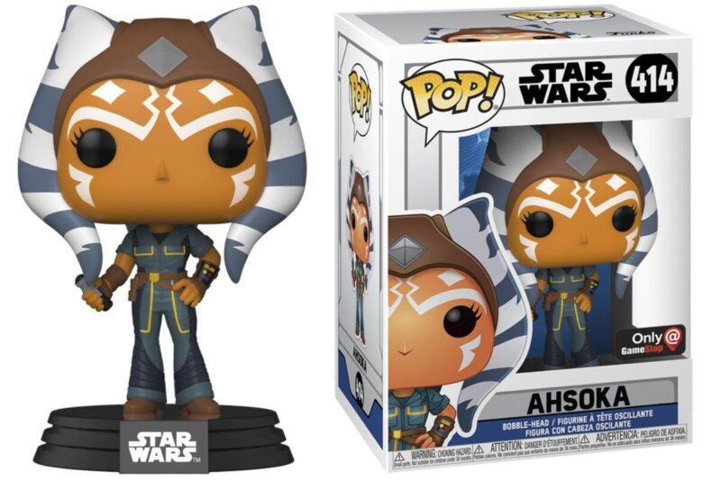 Funko pop Ashoka Tano Gamestop Exclusive Star Wars Clone Wars new pose