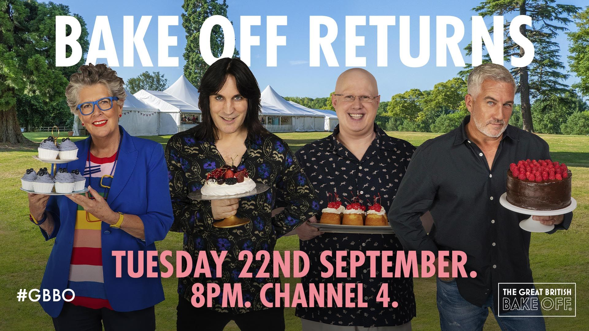 The Great British Bake Off' Returns September 22 – Nerds and Beyond
