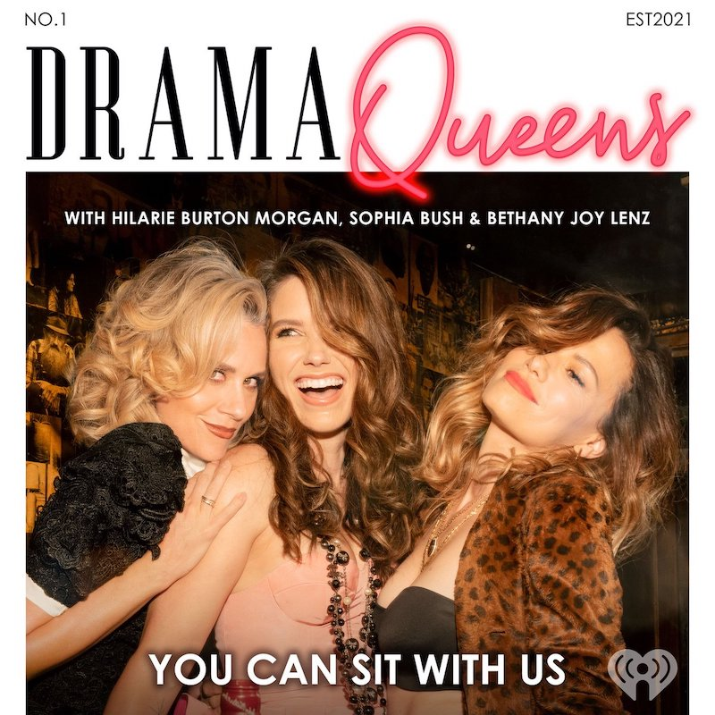 Drama queens podcast poster