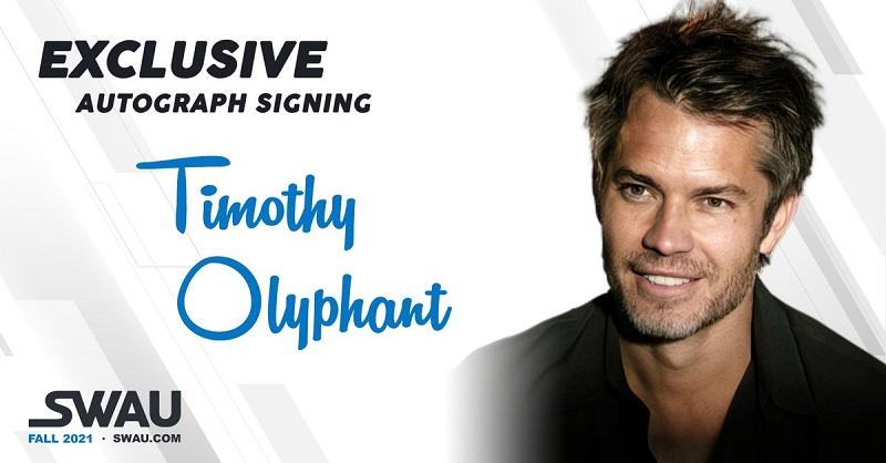 Timothy Olyphant Star Wars Autograph Universe Advertisement