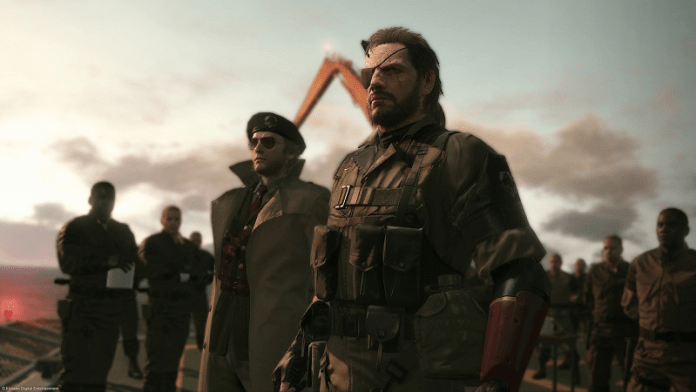 Official photo from Metal Gear Solid V: The Phantom Pain