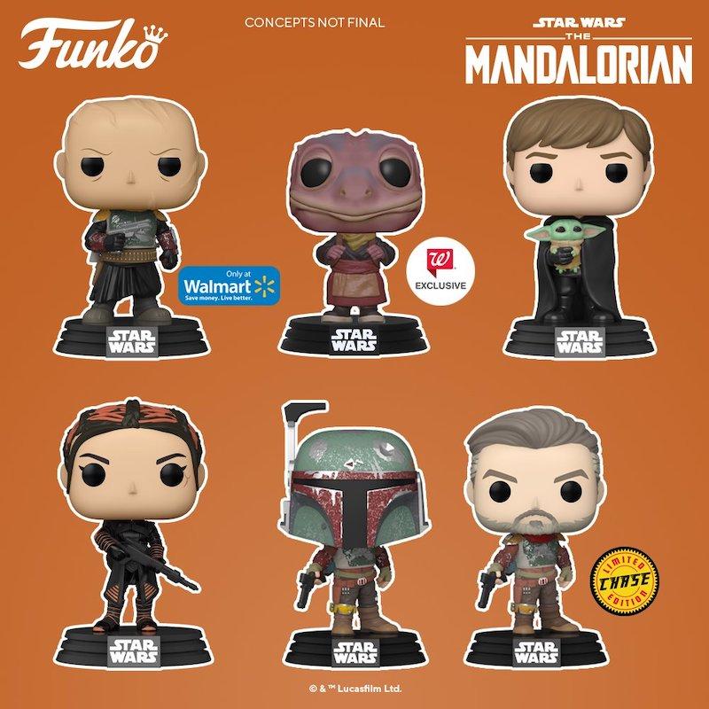New The Mandalorian Funko Pop! Figures