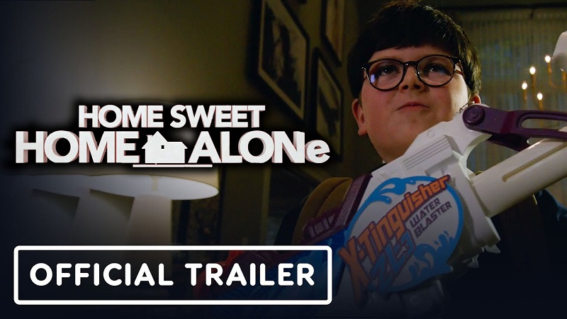 Home Sweet Home Alone Trailer Cover