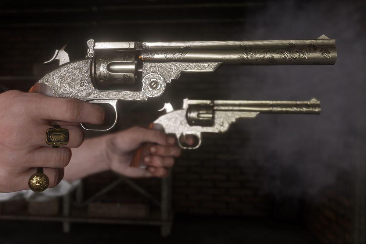 The Top 10 Best Revolvers in Red Dead Redemption 2
