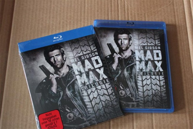 Mad Max Trilogie auf Blu-ray