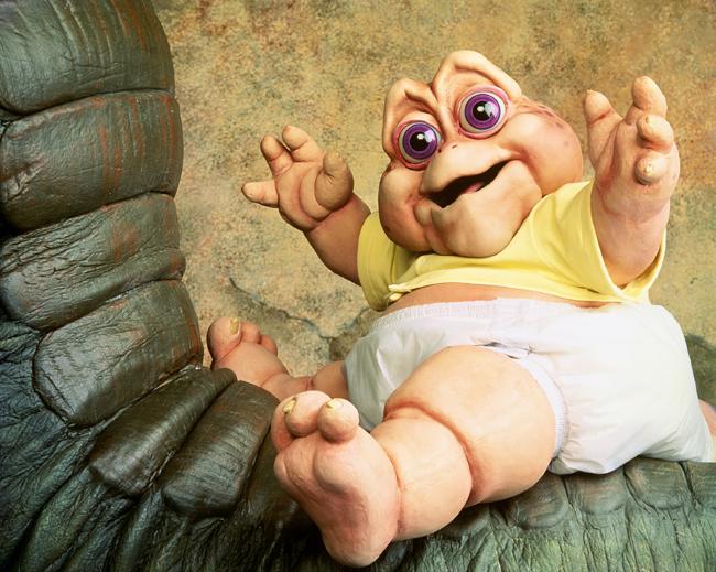Die Dinos Baby nicht die Mama Review Rezension