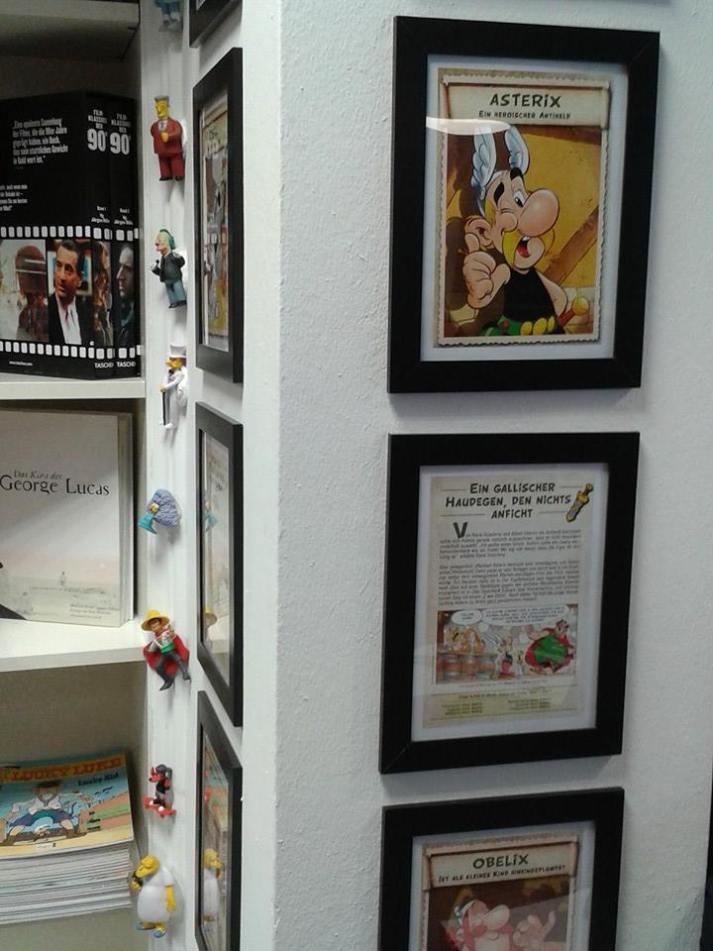 Asterix und Obelix hängen da ganz gut!