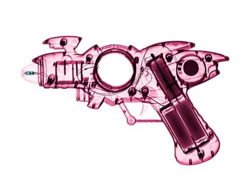 Lumas Art Now BRENDAN FITZPATRICK X-ray of a Toy Ray Gun 03