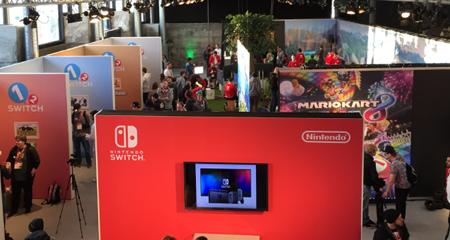 Nintendo Switch und das variable Spielerlebnis – Hands-on Event in München