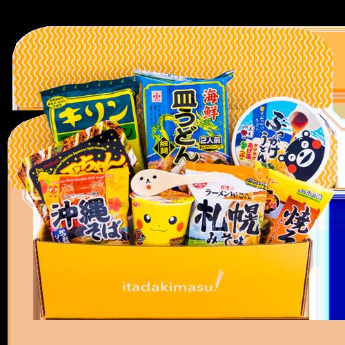 Nintendo Pokémon Ramen Crate Lootbox