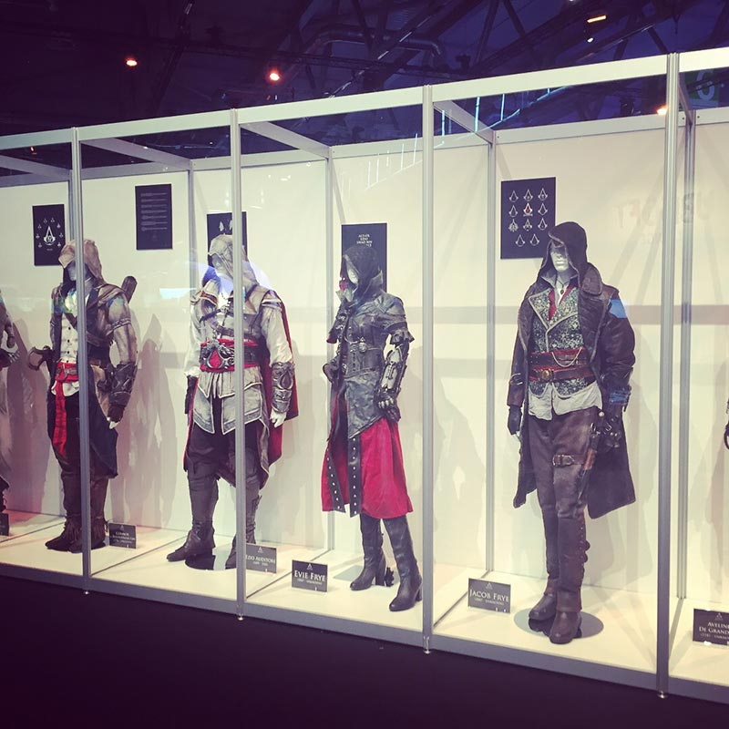 Ubisoft Assassin's Creed Kostüme Gamescom