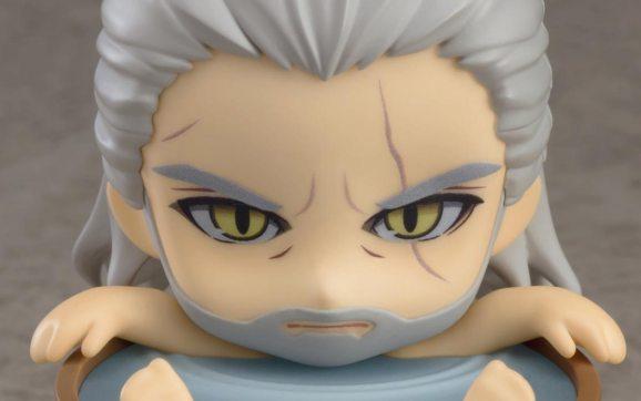 Geralt of Rivia Witcher 3 Nendoroids!