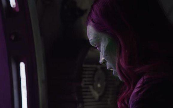 Avengers Infinity War Guardians of the Galaxy Gamora
