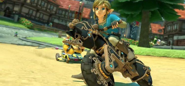 Breath of the Wild Content erscheint für Mario Kart 8 Deluxe