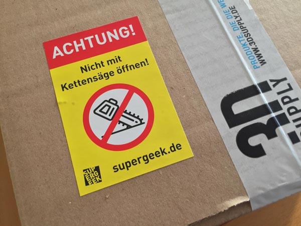 Supergeek Paket Erfahrung