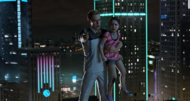 Detroit Become Human Connor Szenen