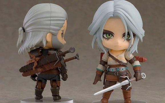 Ciri aus The Witcher 3 tritt den Nendoroid Figuren bei