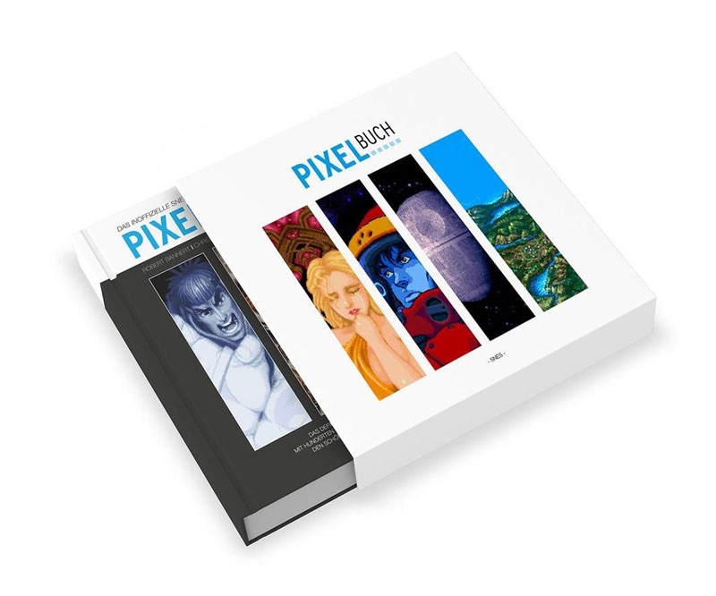 Retro-Kult für Kenner und Sammler: Das Pixelbuch