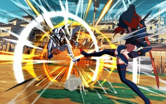 Japanese character introductions of Ryuko and Satsuki for KILL la KILL - IF released