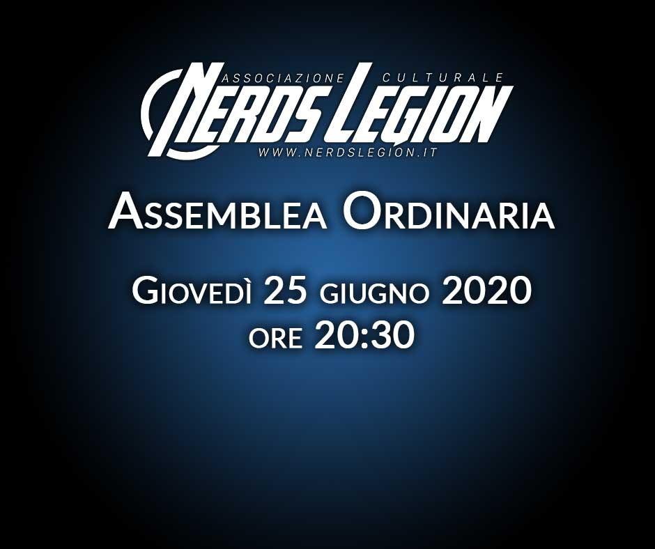 Convocazione Assemblea Ordinaria Annuale 25 giugno 2020