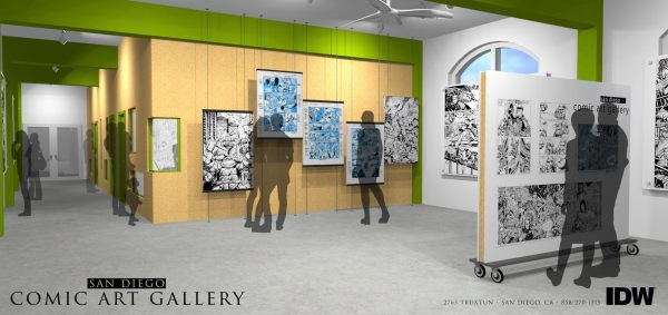 Comic Art Gallery San Diego