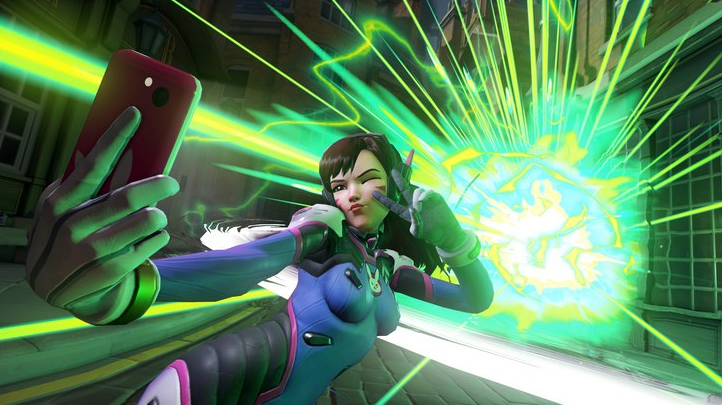 D.va highlight selfie explosion self-destruct