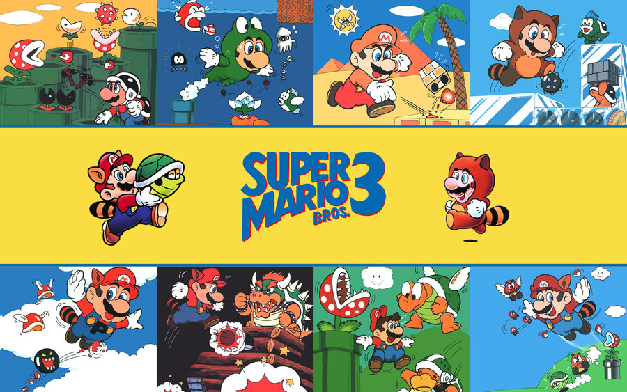 Super Mario Bros. 3 Wallpaper Fistfulofyoshi