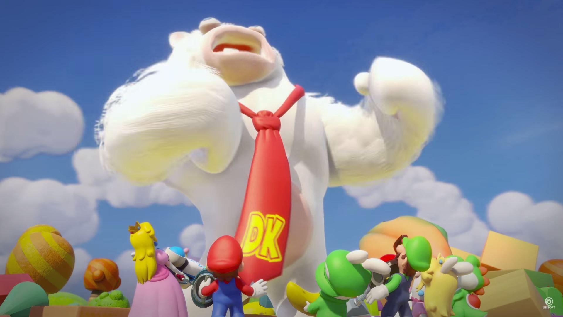 Mario + Rabbids Kingdom Battle DK