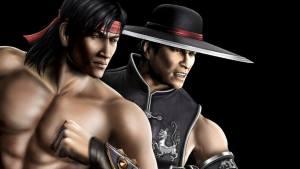 Liu Kang and Kung Lao monks Mortal Kombat