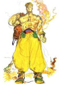 Sabin Final Fantasy 6 monk