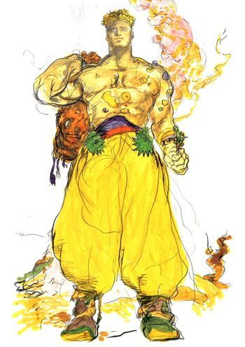 Sabin Final Fantasy 6 monk
