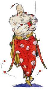 Yang Final Fantasy 4 monk