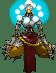 Zenyatta overwatch monk