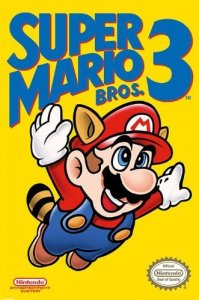 Super Mario Bros 3 NES Cover
