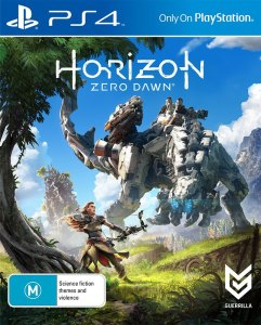 Horizon Zero Dawn PS4 Cover