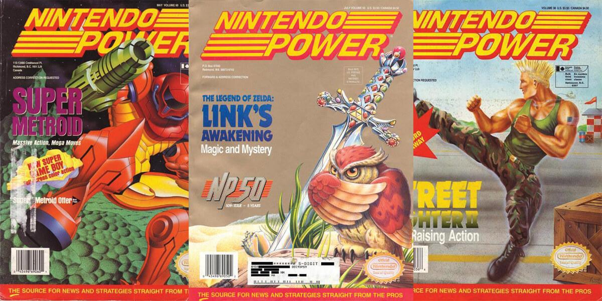 Nintendo Power Covers