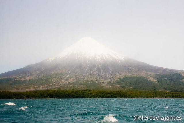 Vulcão Osorno visto do Lago Todos los Santos - Chile