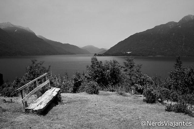 Lago Todos los Santos visto do mirante da Isla Margarita - Chile