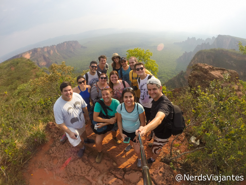 Blogueiros na Chapada dos Guimarães - Mato Grosso - Brasil
