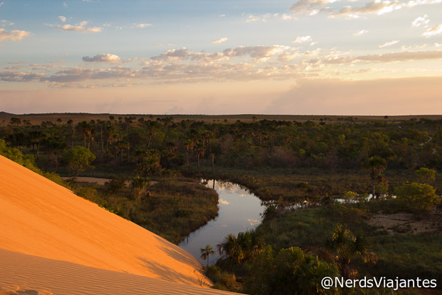 Vista das dunas do Jalapão - Tocantins