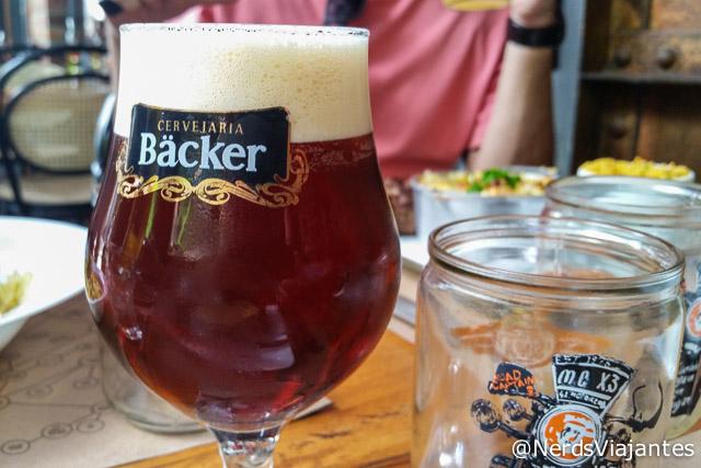 Chope IPA da Cervejaria Backer em Belo Horizonte - Minas Gerais
