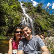 Cachoeira da Farofa na Serra do Cipó - Minas Gerais