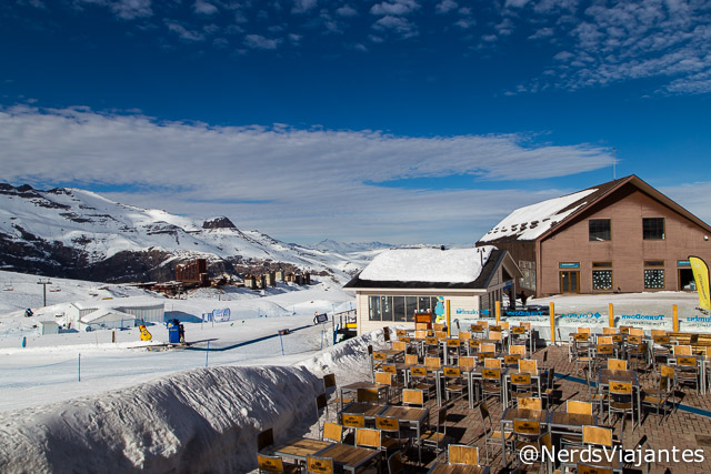 Restaurante Bajo Zero no Valle Nevado - Chile