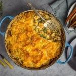 Phyllo Pot Pie With Creamy Chicken Caramelized Onions And Swiss Chard Nerds With Knives
