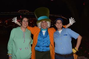 mad hatter mickey's not-so-scary halloween party
