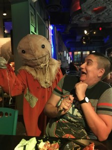 Scareactor Dining Experience Review 2017