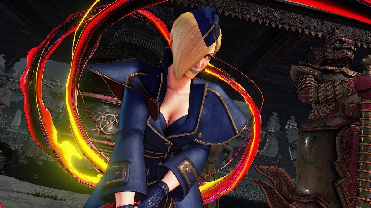 STREET FIGHTER V | Falke é lançada hoje para PS4 e PC