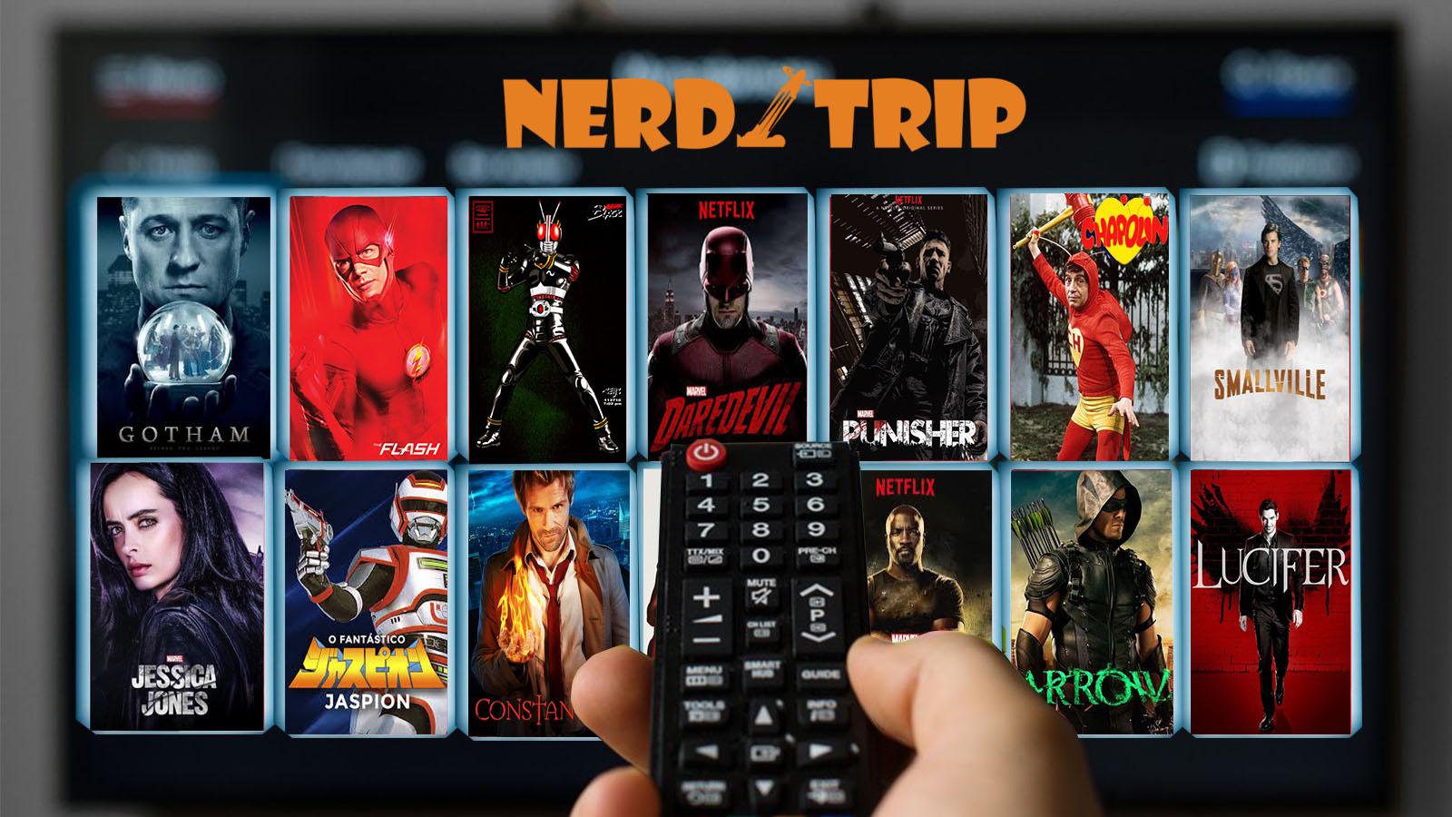 TRIP LISTA | As melhores séries de super-heróis de todos os tempos pela equipe Nerdtrip
