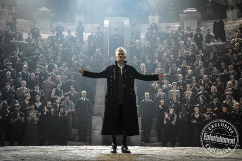 Fantastic Beasts: The Crimes of Grindelwald Johnny Depp