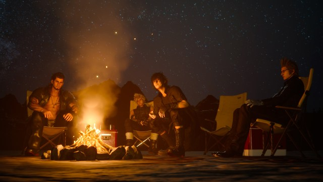 Final Fantasy XV Camping